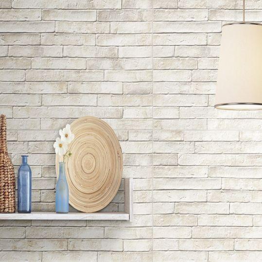Inspirasi Desain: Bata Ekspos Putih yang Mempercantik Dinding | Niaga Art Blog