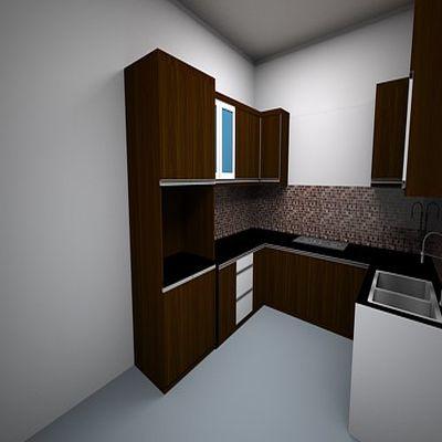 Kitchen Set - Wood | Niaga Art