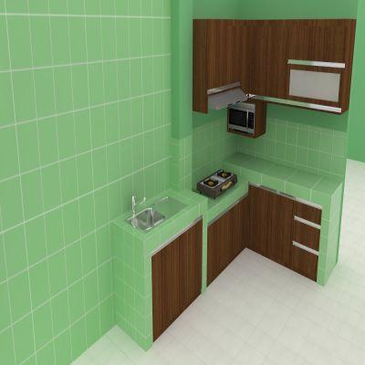 Light Green Kitchen Set | Niaga Art