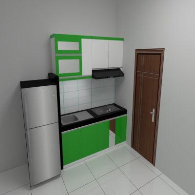 Green Kitchen Set | Niaga Art