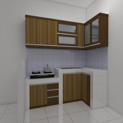 Brown Kitchen Set | Niaga Art