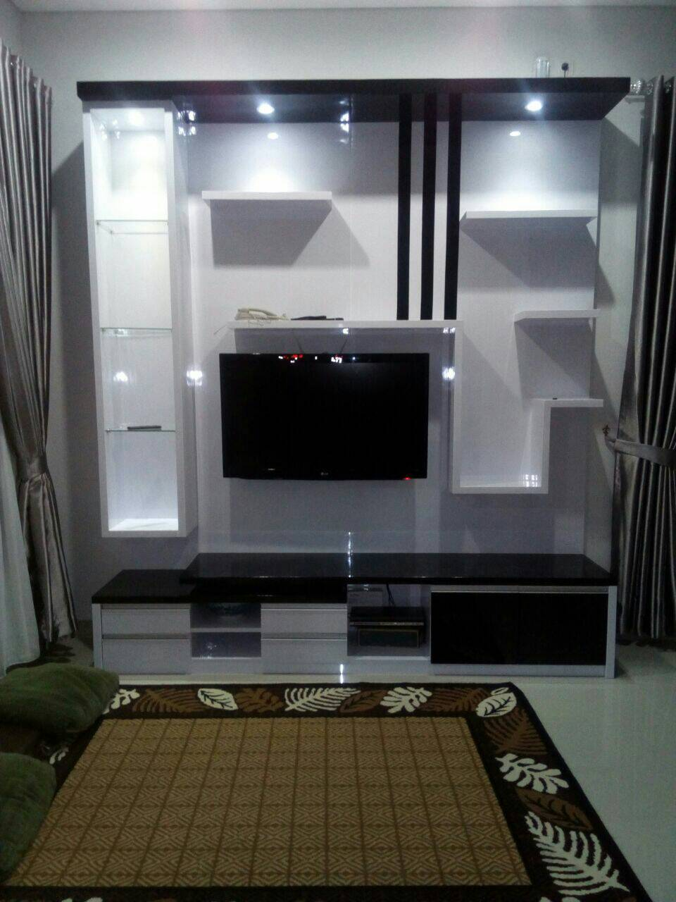 Television Buffet with Rack | Niaga Art