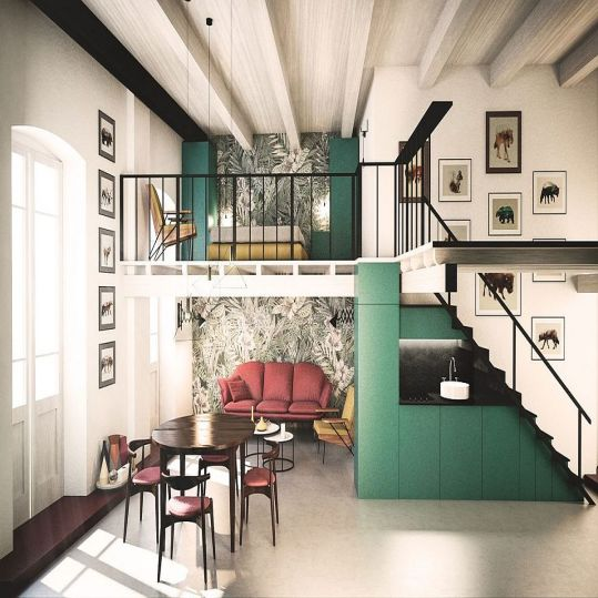 Mezzanine, Ruang Serbaguna yang Unik dan Artistik | Niaga Art Blog