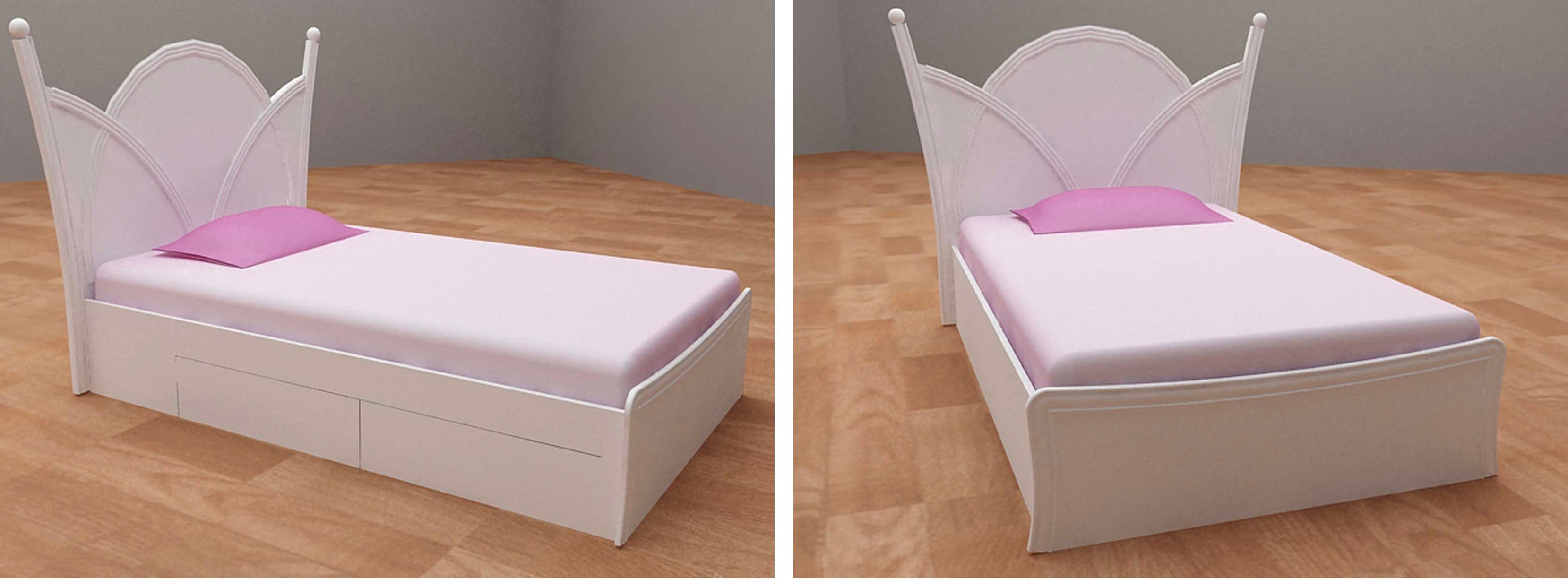 Bed Set with Unique Head Rest | Niaga Art