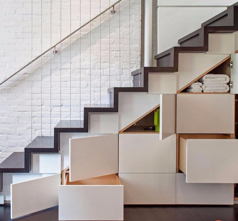 konsep dan gaya interior storage kreatif