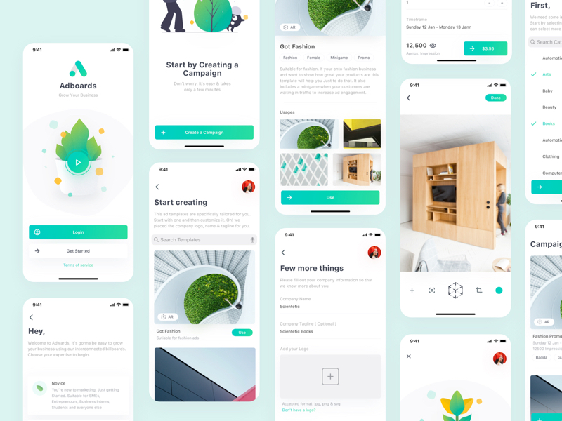 Adboards UI Kit for Sketch