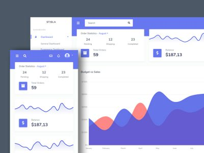 Stisla Bootstrap Free Admin Template