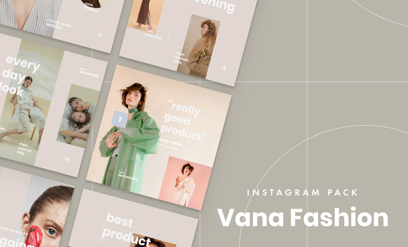 Free Vana Fashion Instagram Pack