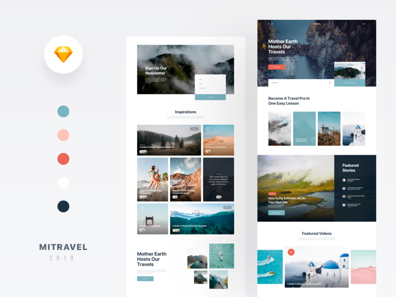MI Travel - Free Sketch Template