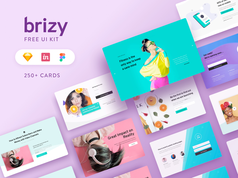 Brizy Web UI Kit