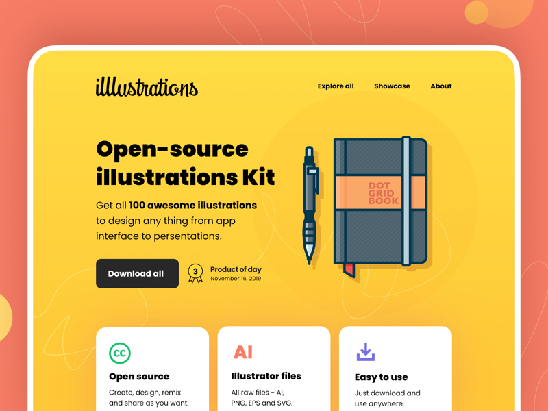Illlustrations - Open source illustrations kit