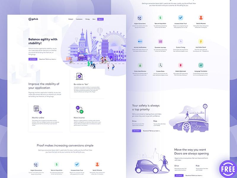 GoHub Landing Page