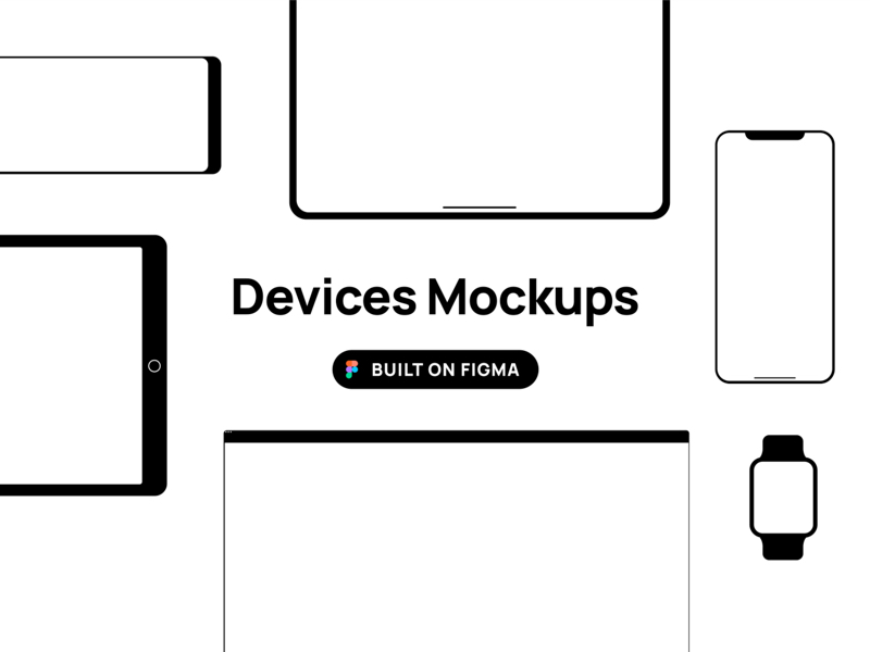 Devices Mockup for Figma