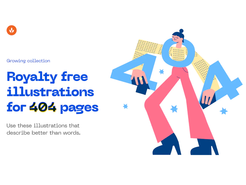 404 Illustrations for Figma & Sketch