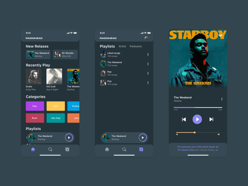 Music App for Sketch