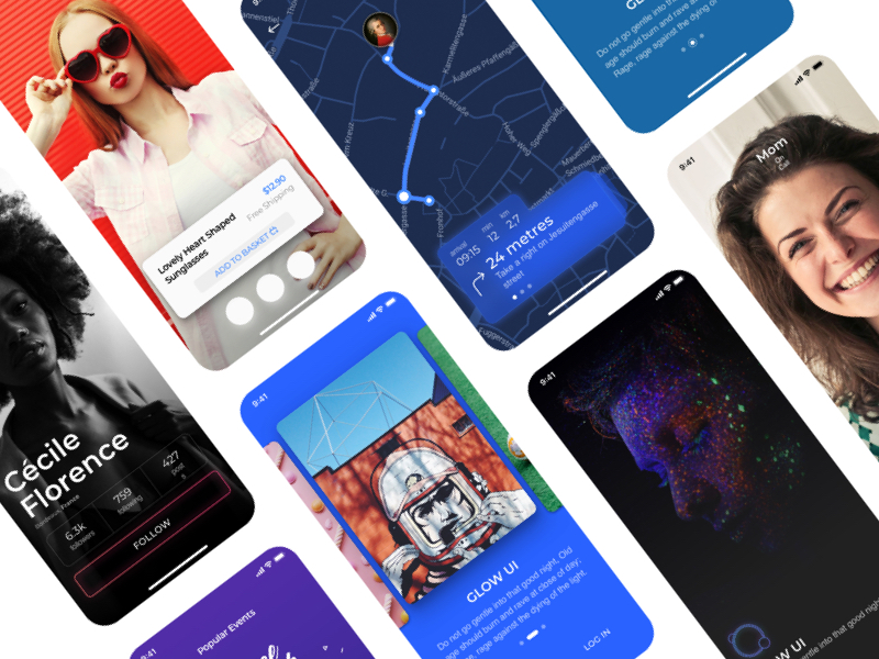 Glow UI Kit for Sketch