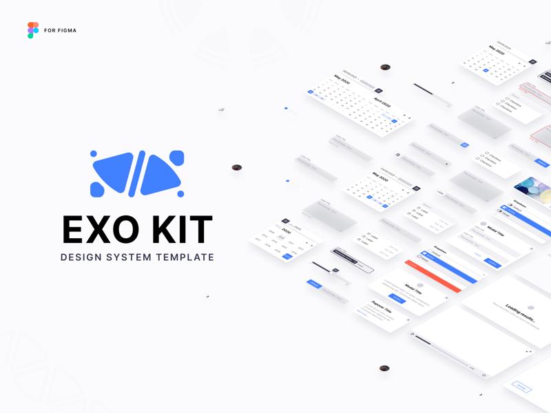 EXO KIT Design System for Figma