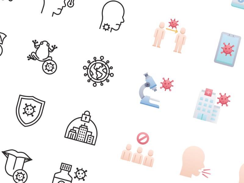 COVID-19 Free Icons