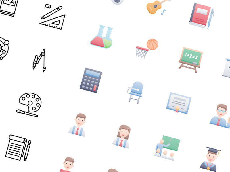 53 Education Free Icons