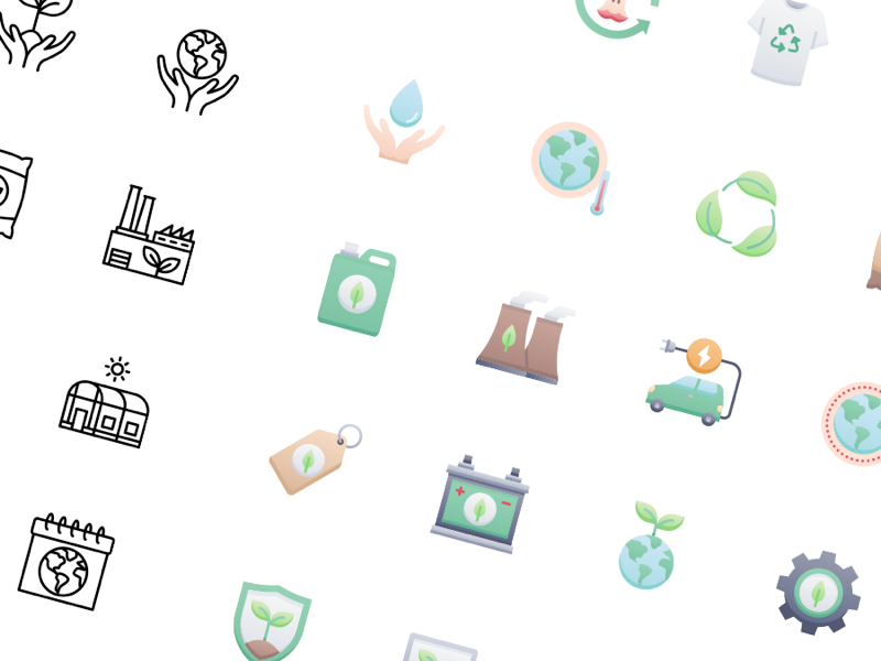 58 Ecology & Nature Free Icons
