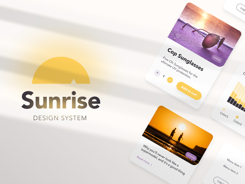 Sunrise Design System for Figma