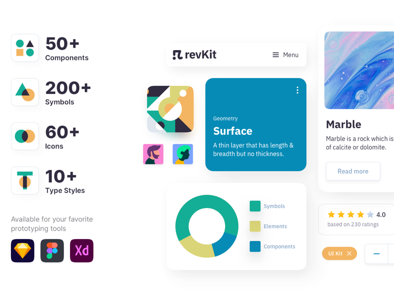 Revkit Design System UI Kit