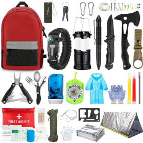 Tactical Outdoor Survival Gear And First Aid Kit