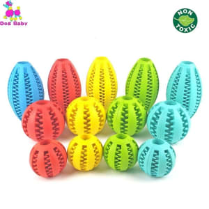 The 2-In-1 Prime Chewy Ball - Dog Toy For Teeth Cleaning