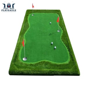 PRIME Portable Golf Practice Mat for In and Outdoor Putting