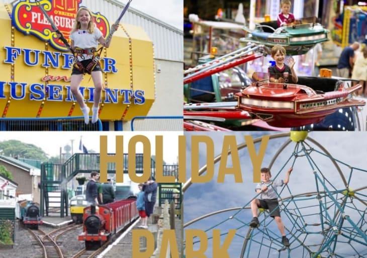caravan holiday park Scotland, family holiday park, holiday park Scotland, Seaton Estate Holiday park