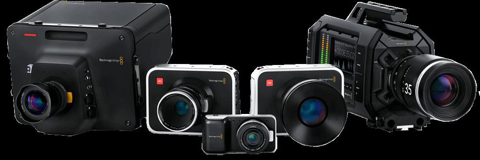 câmeras profissionais blackmagic