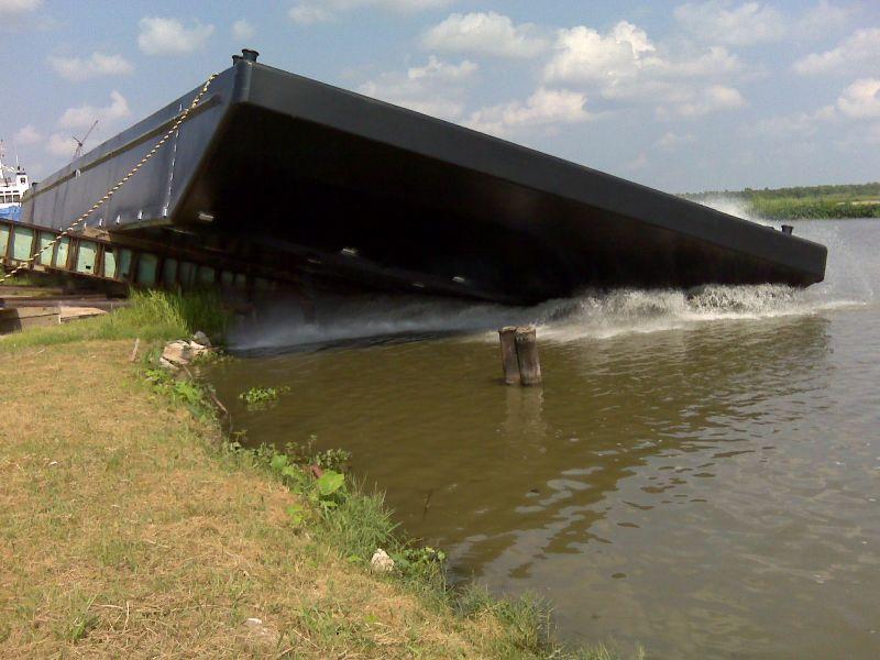 140' x 54' x 9' ABS Spud Barge | Eiffel Trading