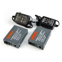 2K Netlink fibre media onverter 2km 100 base