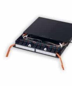 Siemon Fiber Connect Panel, Fixed Tray Black, 1RMS FCP3-Rack, Nairob Kenya