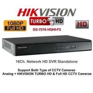 HIKVISION Turbo-HD DVR 16 Channel 1080p | HubtechShop