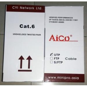 Cable-UTP Aico CAT 6 of 305Metres Roll