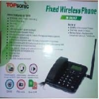 Topsonic s100 Home/Office Wireless Desktop GSM Phone with Dual Sim