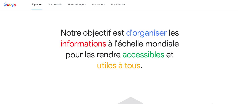 Vision de Google