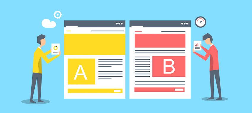 Faire varier une page web pour A/B tester