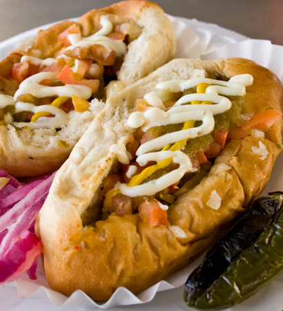 Sonoran Hot Dog - El Guero Canelo - 410x450