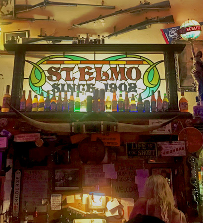St. Elmo Bar - 410x450