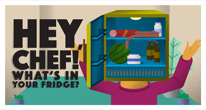 Hey, Chef! What's In Your Fridge?
