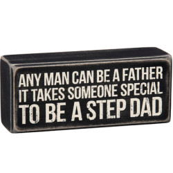 PRIMITIVES BY KATHY® BOX SIGN-STEP DAD
