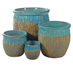 PLANTER W/ROOTS DECOR 4723