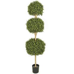 Boxwood Topiary 3 Ball 6.5'