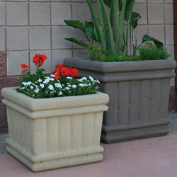 Tuscany Square Series Planters