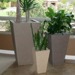 Oblique Vase Series Planters