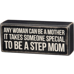 PRIMITIVES BY KATHY® BOX SIGN-STEP MOM