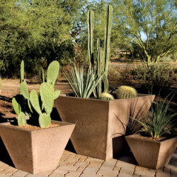Oblique Series Planters Tall