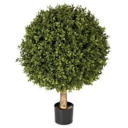 "Boxwood Topiary Ball 24"""